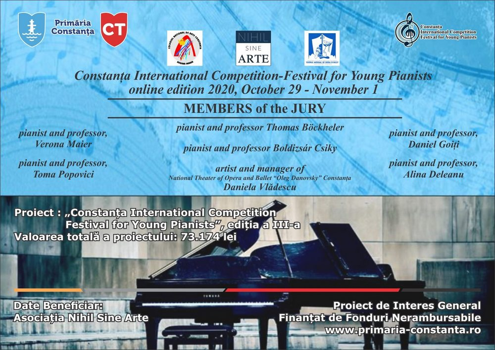 Constanta International Competition - Festival for Young Pianists 1