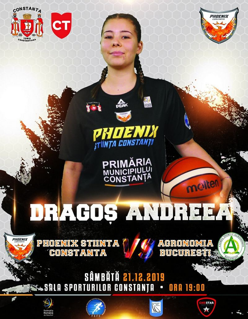 afis CS Phoenix Constanta vs. Agronomia Bucuresti 21.12.2019 site