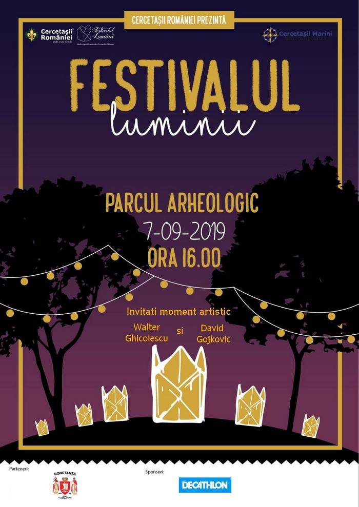 afis Festivalul Luminii site