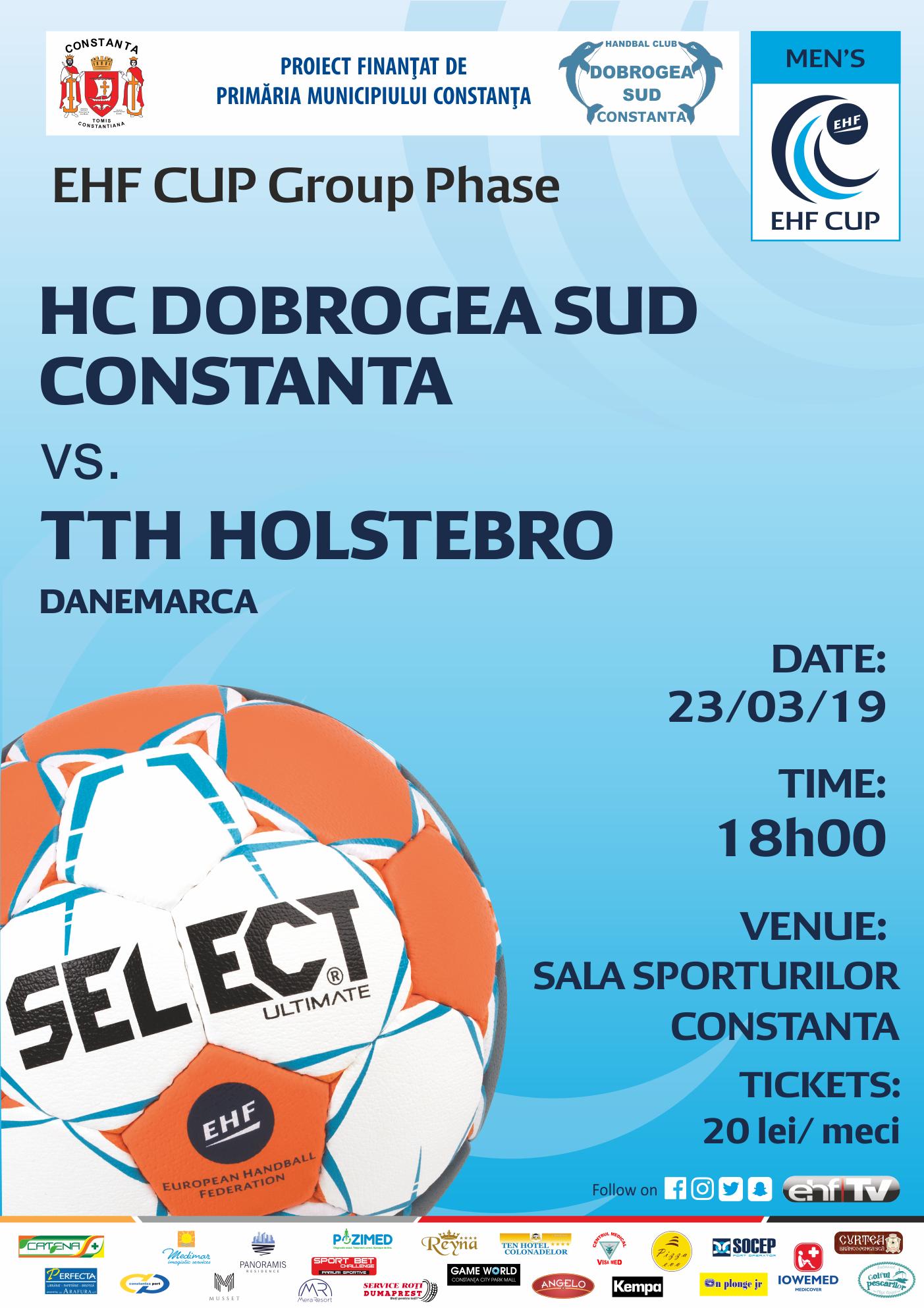 afis Hc Dobrogea Sud Constanta vs. TTH Holstebro 23.03.0219