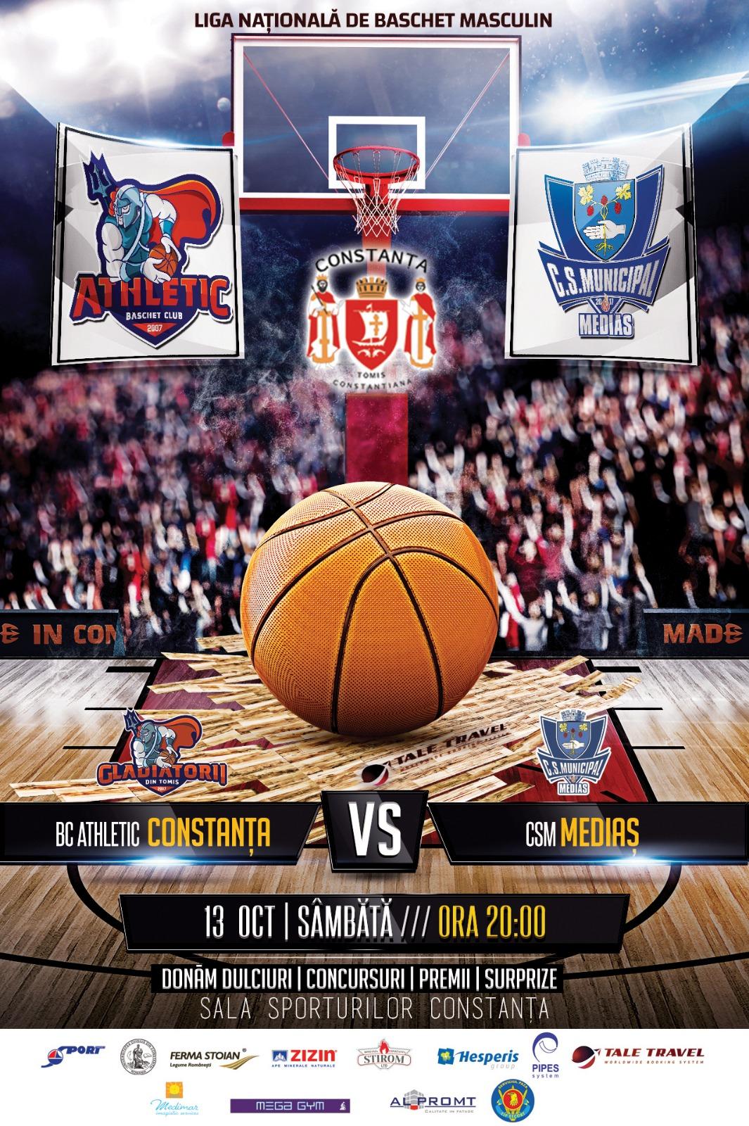 afis liga naționala de baschet BC Athletic