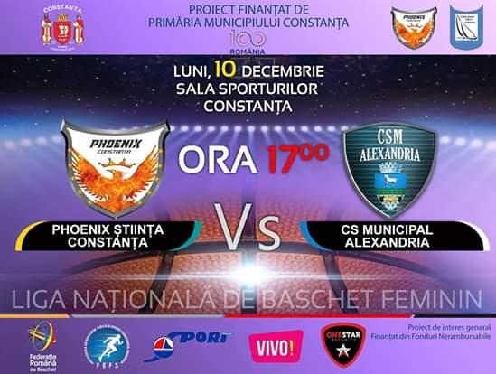 afis Phoenix Stiinta Constanta vs CS Municipal Alexandria 10.12.2018