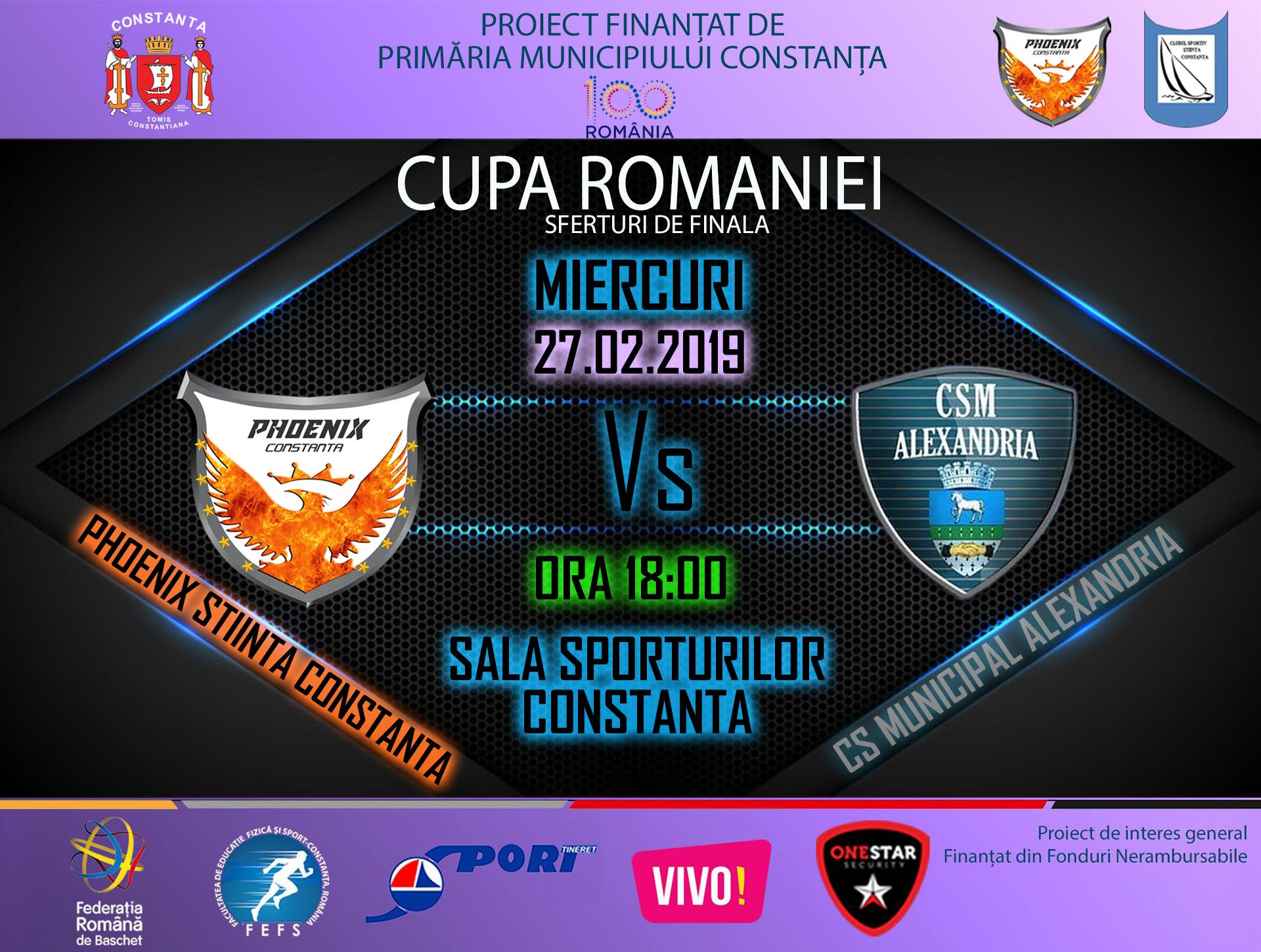 afis Phoenix Stiinta Constanta vs. CS Municipal Alexandria  27.02.2019