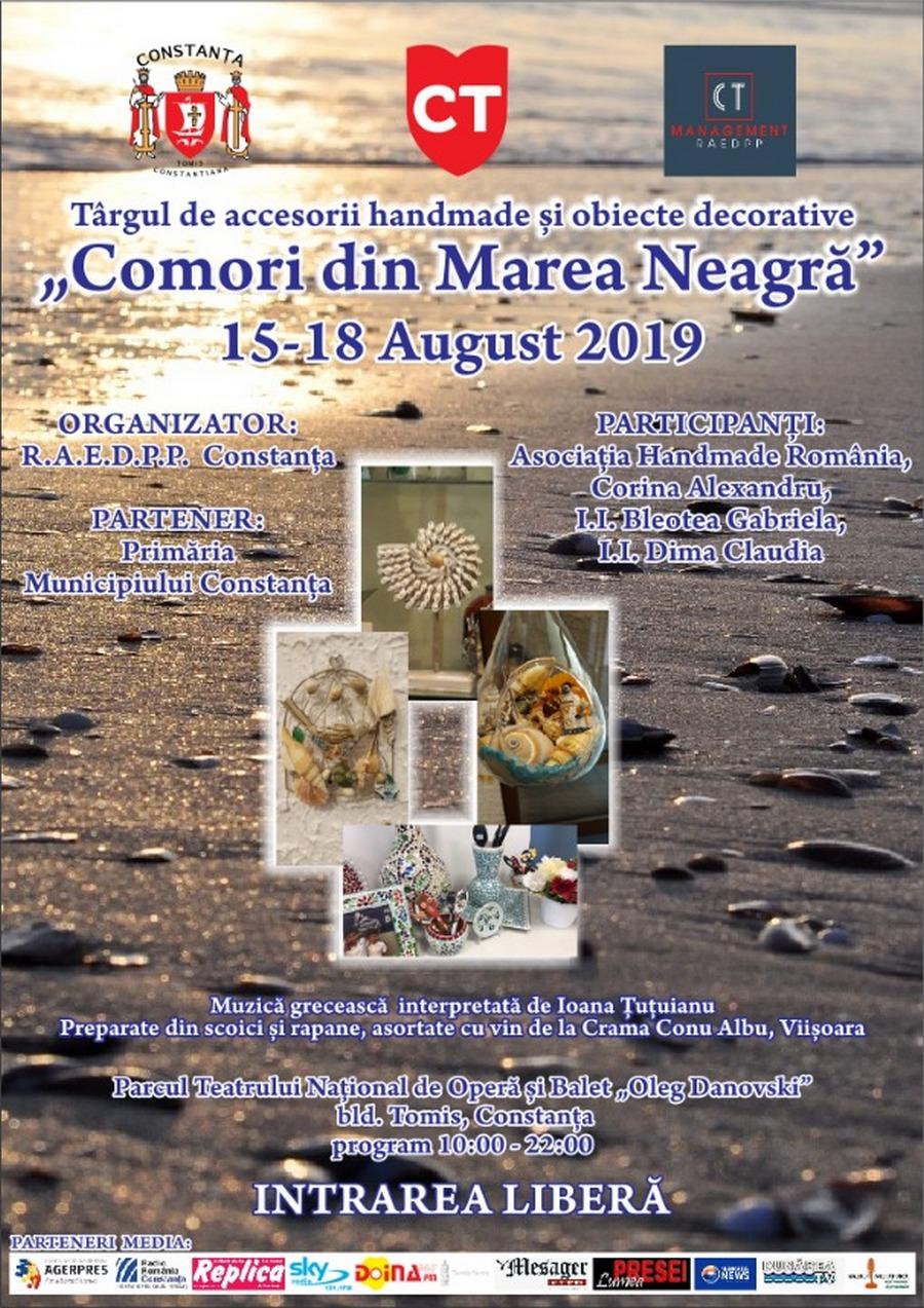 afis targ Comori din Marea Neagra