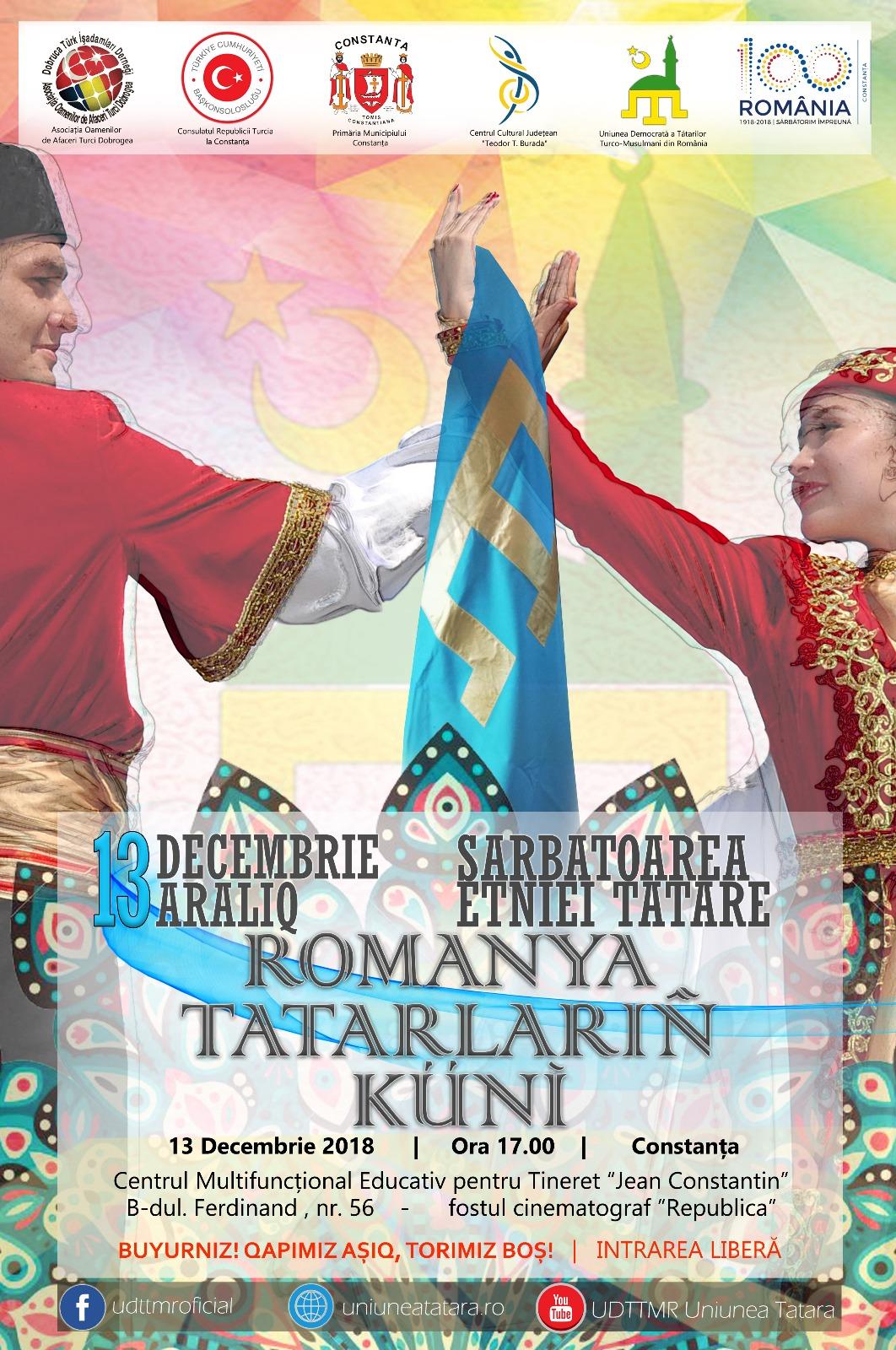 Afis Ziua Tatarilor 2018 de publicat