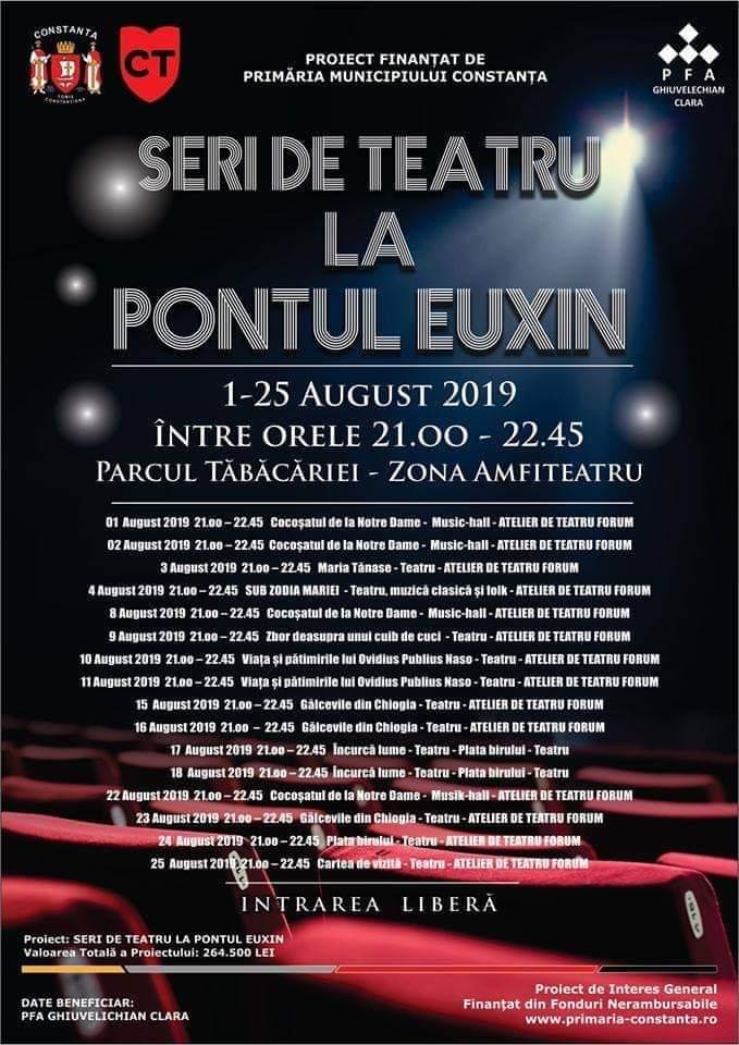 Seri de teatru la Pontul Euxin